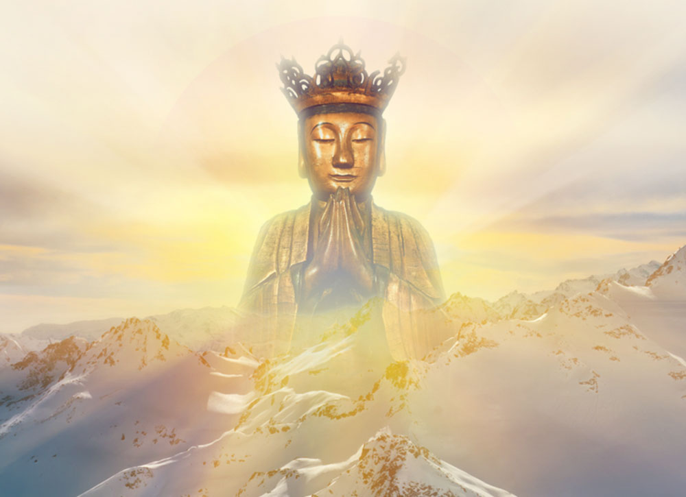 Buddha-Radiant-In-the-Mountains