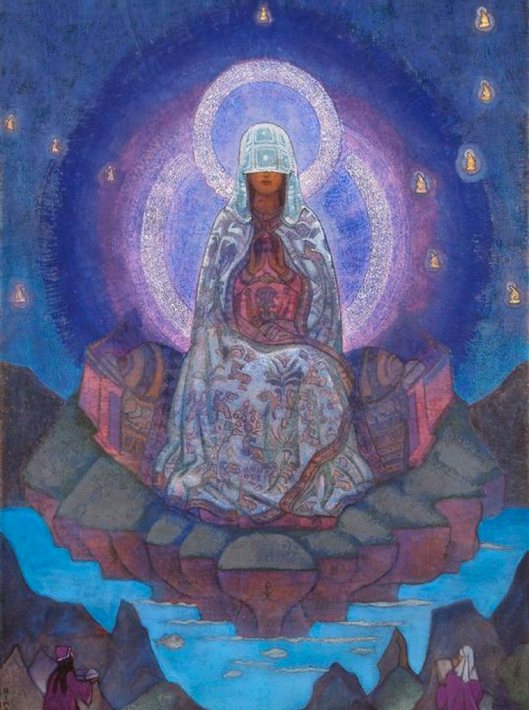 Mother of the World Nicholas Roerich Painting